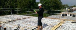 Digitale registratie op de bouw