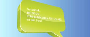 BRL9500, BRL9501, ISSO publicaties 75.1 en 82